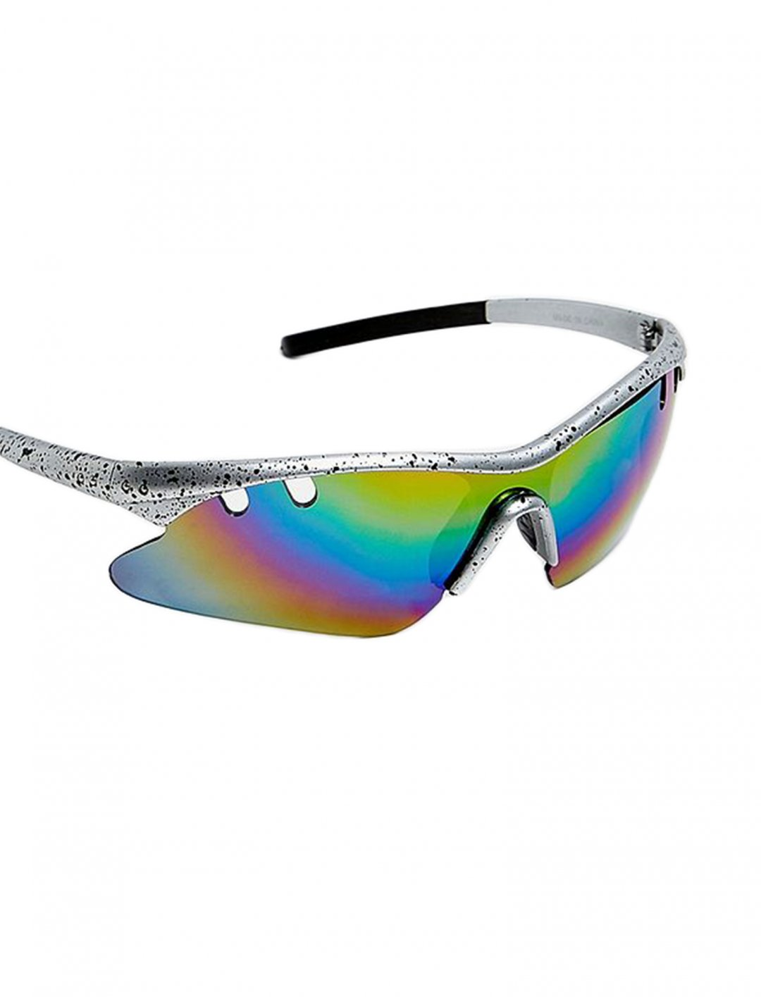 "Silver Splatter Sunglasses {""id"":16,""product_section_id"":1,""name"":""Accessories"",""order"":15} iets frans..."