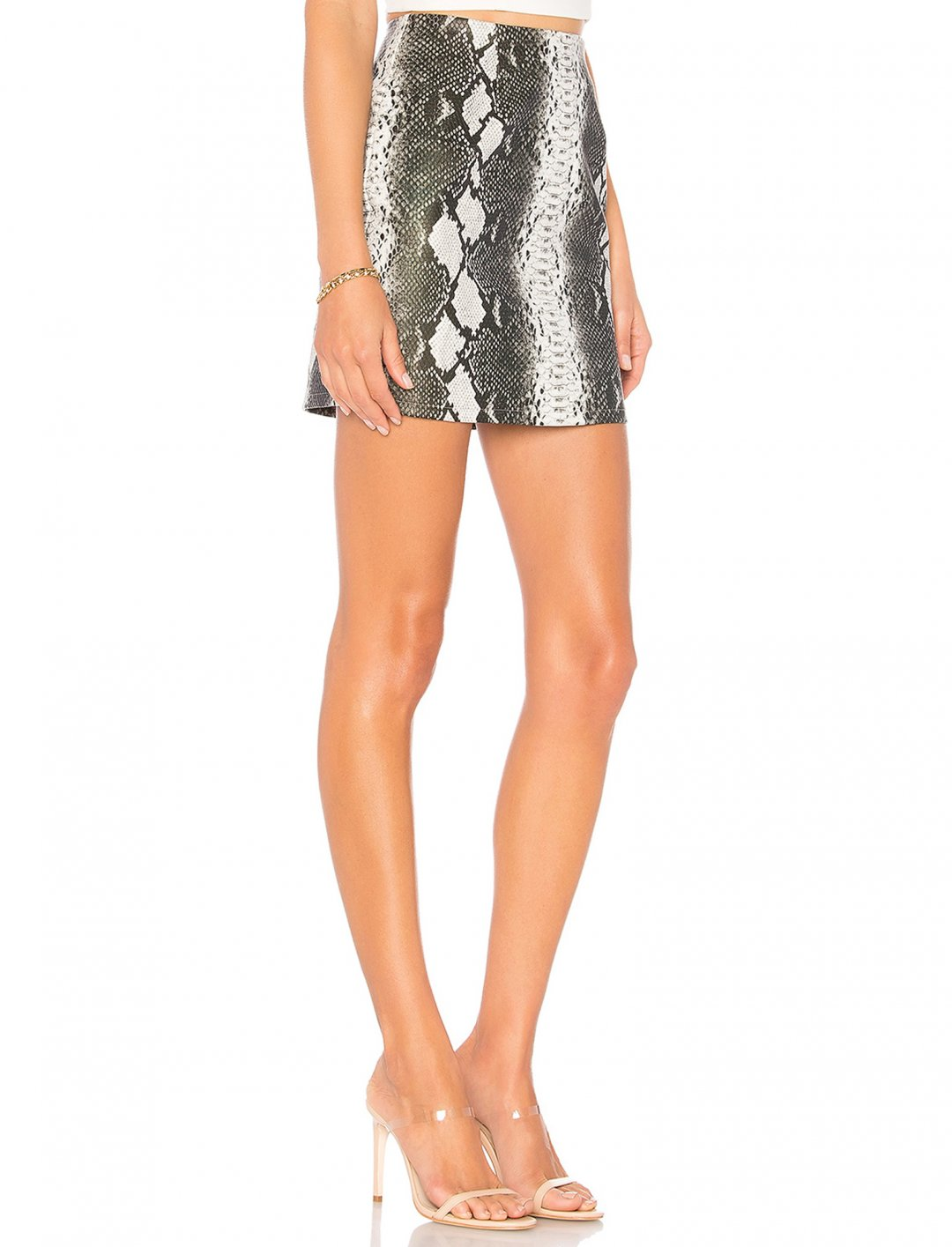 "Snake Mini Skirt {""id"":5,""product_section_id"":1,""name"":""Clothing"",""order"":5} superdown"