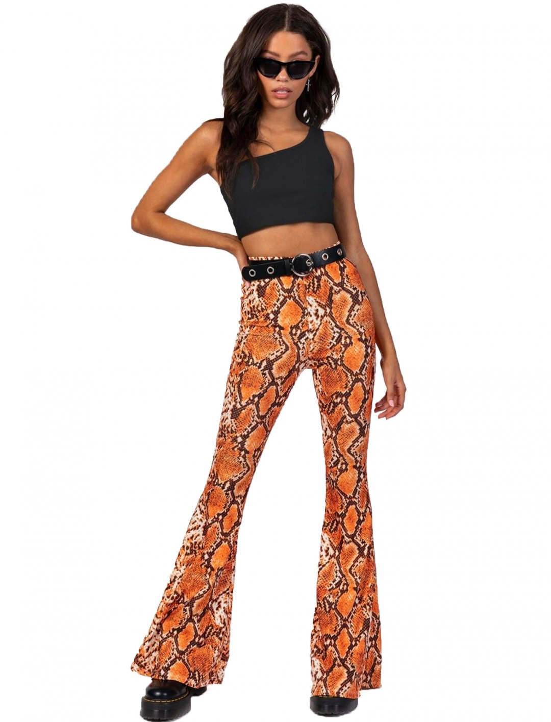 "Snakeskin Flares {""id"":5,""product_section_id"":1,""name"":""Clothing"",""order"":5} Princess Polly"