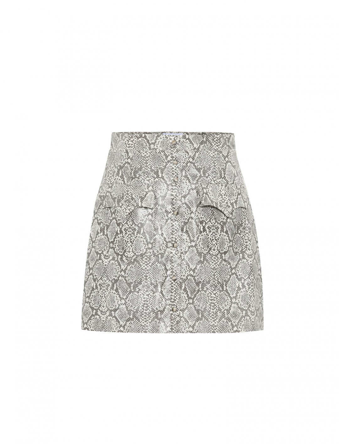 "Snakeskin Skirt {""id"":5,""product_section_id"":1,""name"":""Clothing"",""order"":5} Nanushka x Mytheresa"