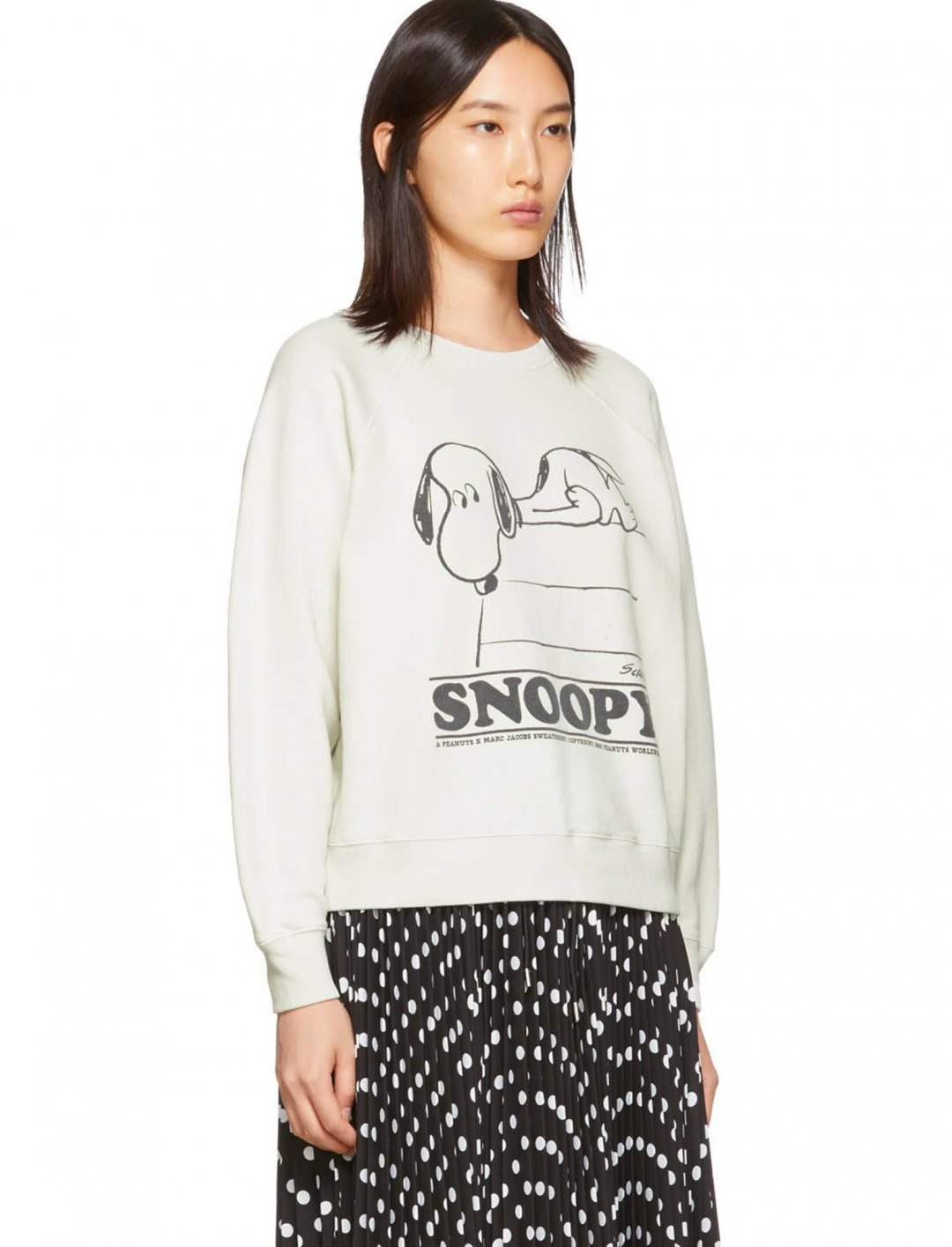 """Snoopy Sweatshirt {""""id"""":15,""""product_section_id"""":1,""""name"""":""""Other"""",""""order"""":0} Marc Jacobs x Peanuts"""