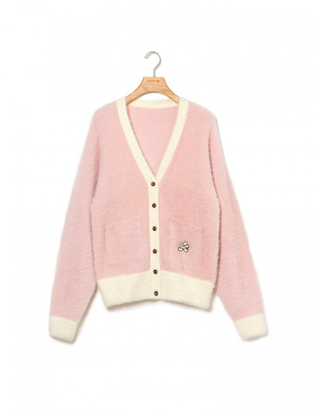 """Soft Cardigan {""""id"""":5,""""product_section_id"""":1,""""name"""":""""Clothing"""",""""order"""":5} Lacoste x Golf le Fleur"""