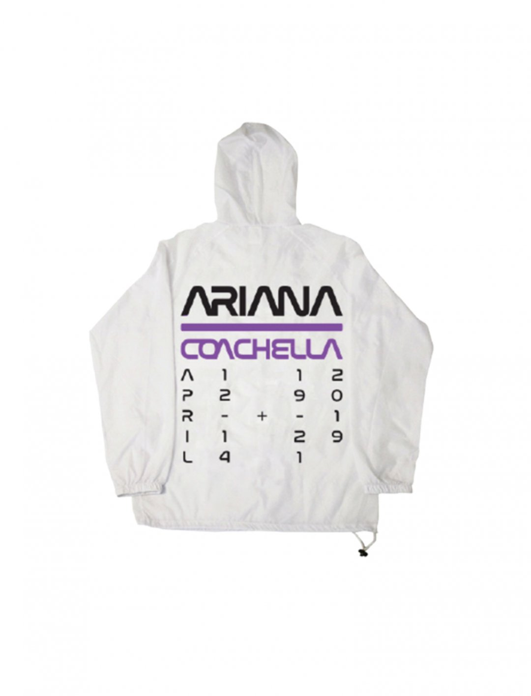 "Space Anorak {""id"":5,""product_section_id"":1,""name"":""Clothing"",""order"":5} Ariana Grande"