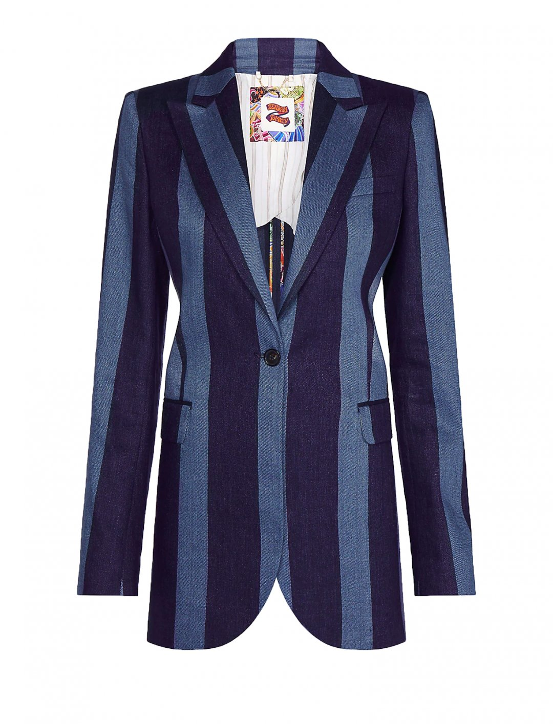 "Stripe Blazer {""id"":5,""product_section_id"":1,""name"":""Clothing"",""order"":5} Zendaya x Tommy"