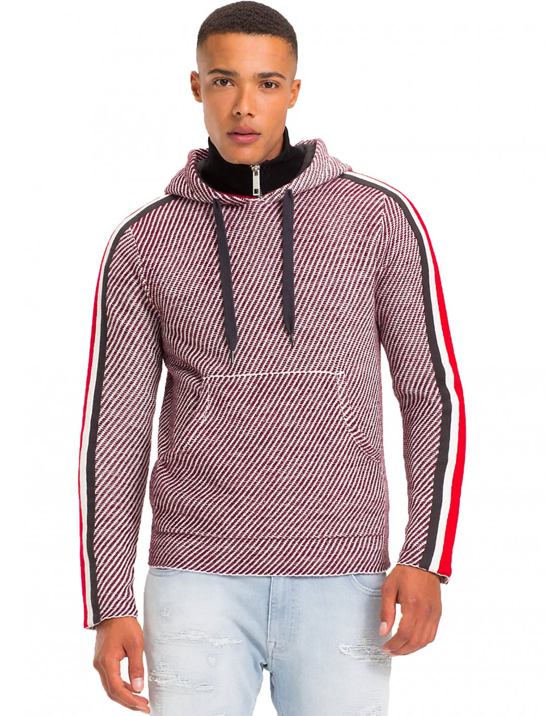 "Striped Hoodie {""id"":5,""product_section_id"":1,""name"":""Clothing"",""order"":5} Tommy Hilfiger"