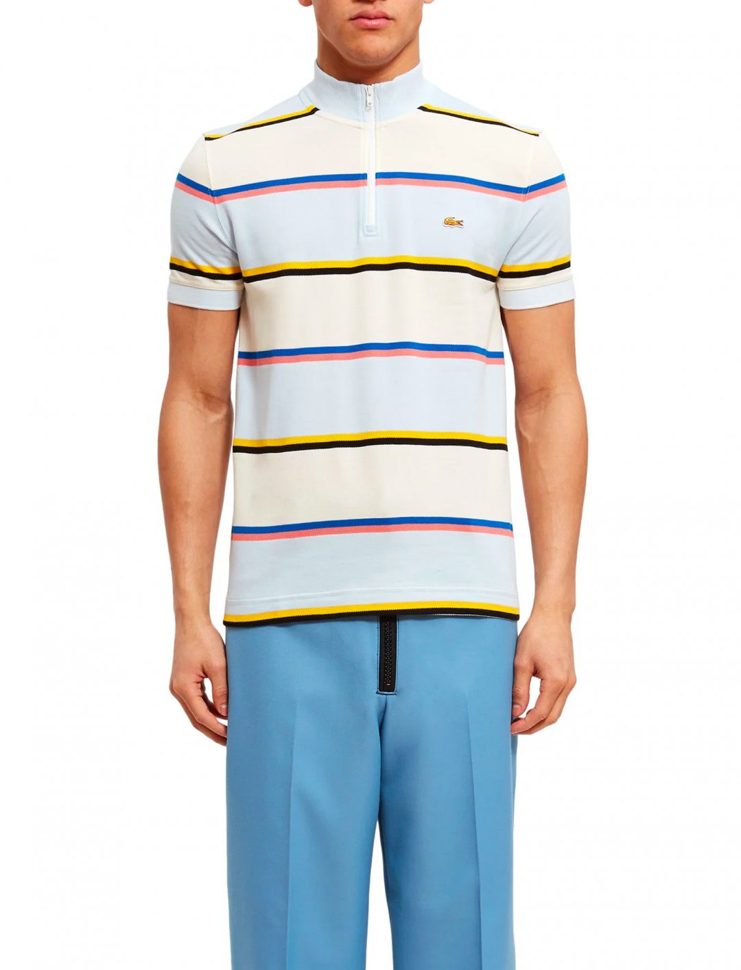 "Striped Polo {""id"":5,""product_section_id"":1,""name"":""Clothing"",""order"":5} Lacoste x Opening Ceremony"