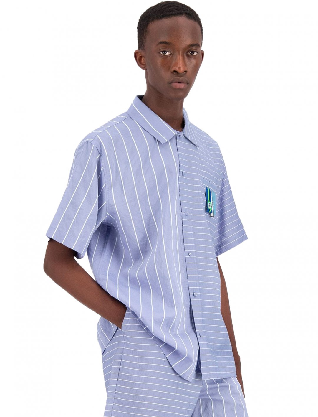 "Striped Shirt {""id"":5,""product_section_id"":1,""name"":""Clothing"",""order"":5} Daily Paper"