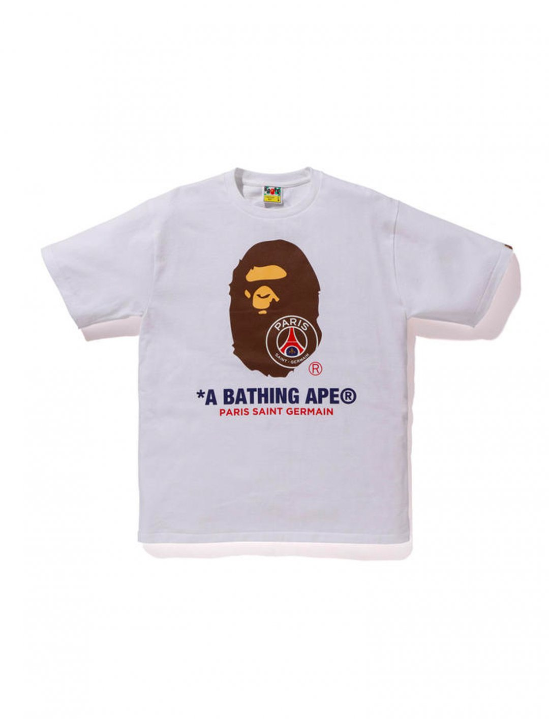 "T-Shirt {""id"":5,""product_section_id"":1,""name"":""Clothing"",""order"":5} PSG X BAPE"