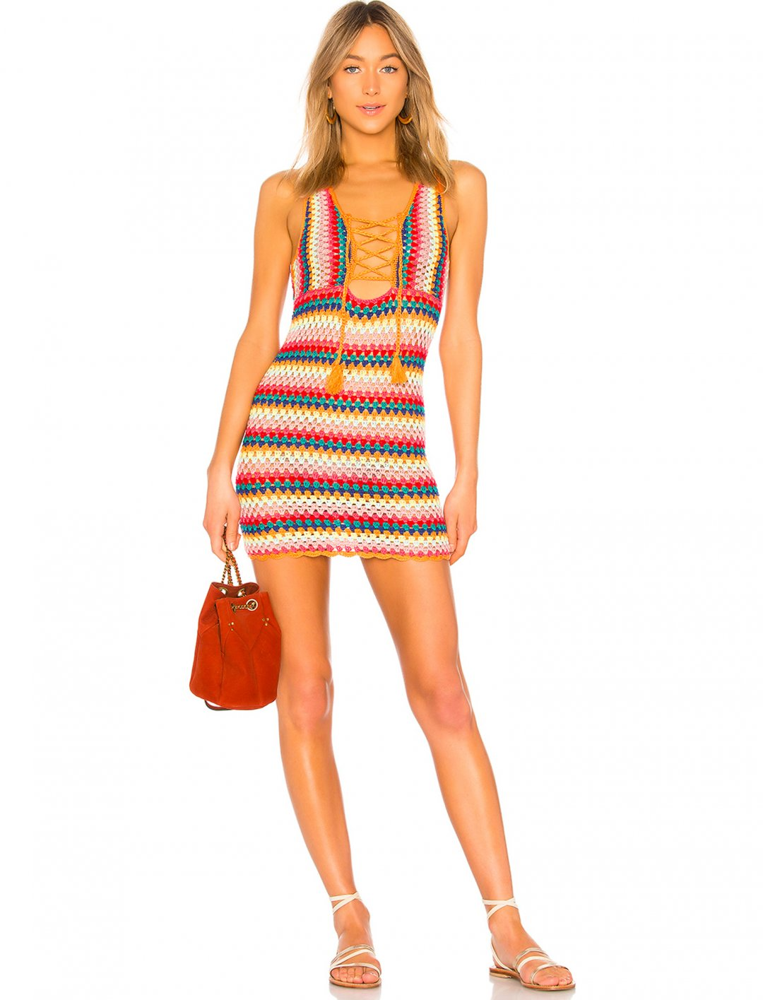 "The Rainbow Dress {""id"":5,""product_section_id"":1,""name"":""Clothing"",""order"":5} Lovers + Friends"