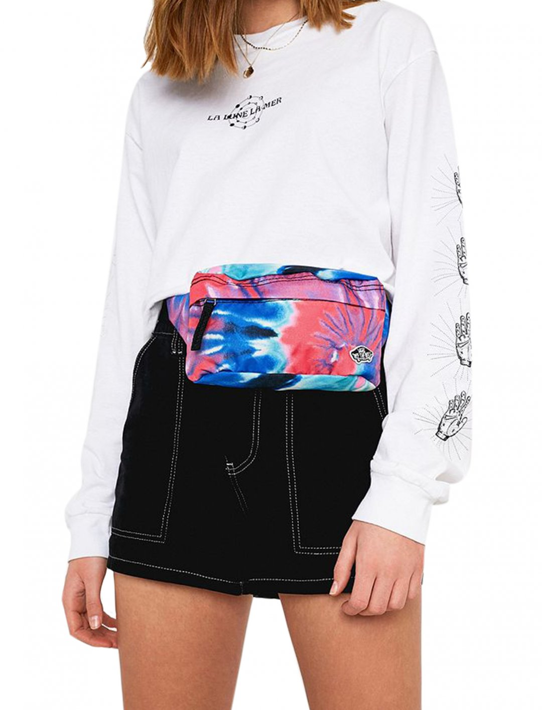 "Tie-Dye Bumbag {""id"":1,""product_section_id"":1,""name"":""Bags"",""order"":1} Vans"