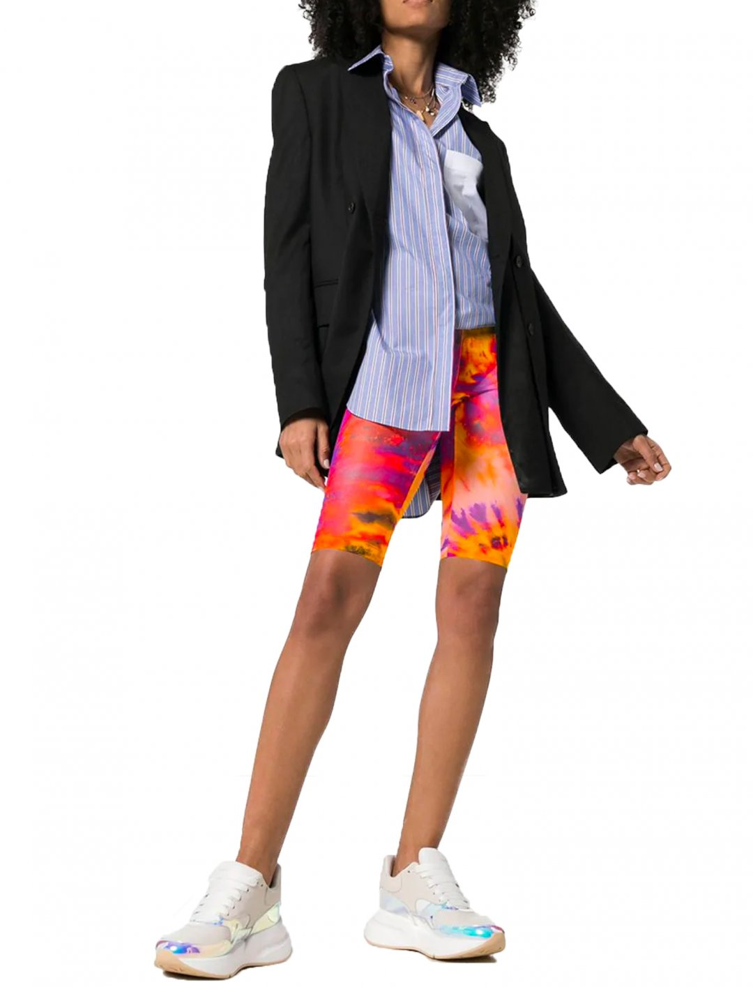 "Tie-Dye Cycling Shorts {""id"":5,""product_section_id"":1,""name"":""Clothing"",""order"":5} MSGM"