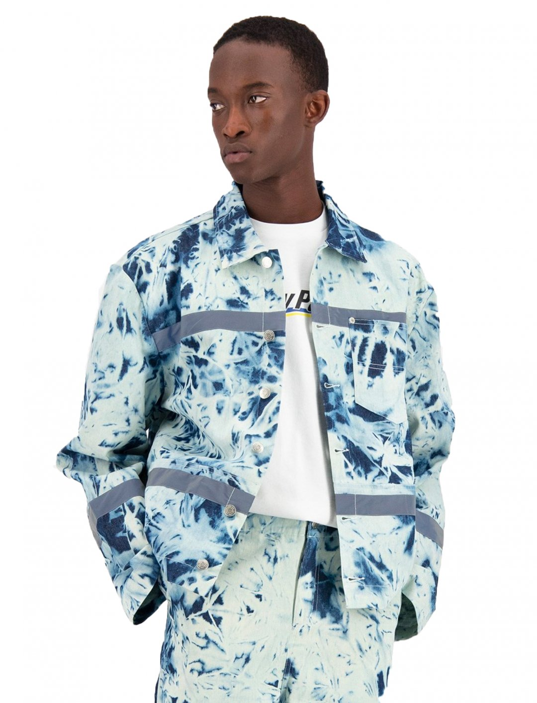 "Tie-Dye Jacket {""id"":5,""product_section_id"":1,""name"":""Clothing"",""order"":5} Daily Paper"