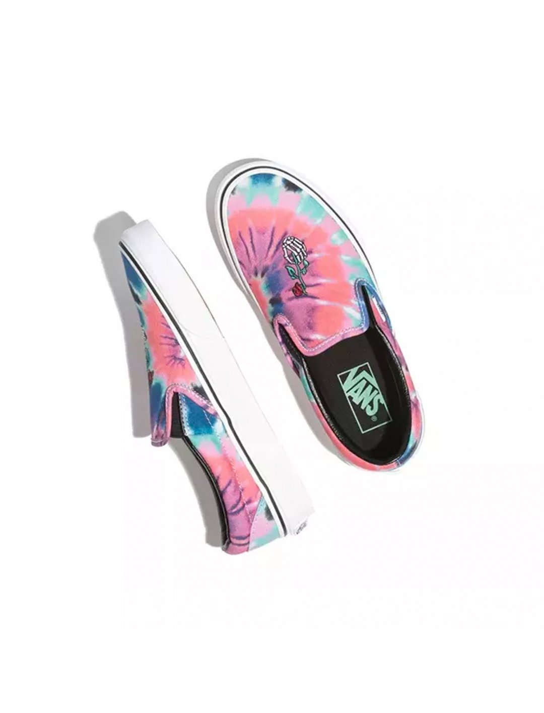 "Tie Dye Shoes {""id"":12,""product_section_id"":1,""name"":""Shoes"",""order"":12} Vans"