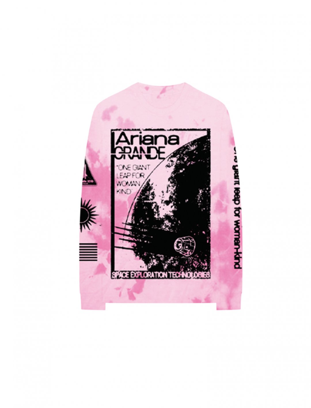 "Tie-Dye Sweatshirt {""id"":5,""product_section_id"":1,""name"":""Clothing"",""order"":5} Ariana Grande"