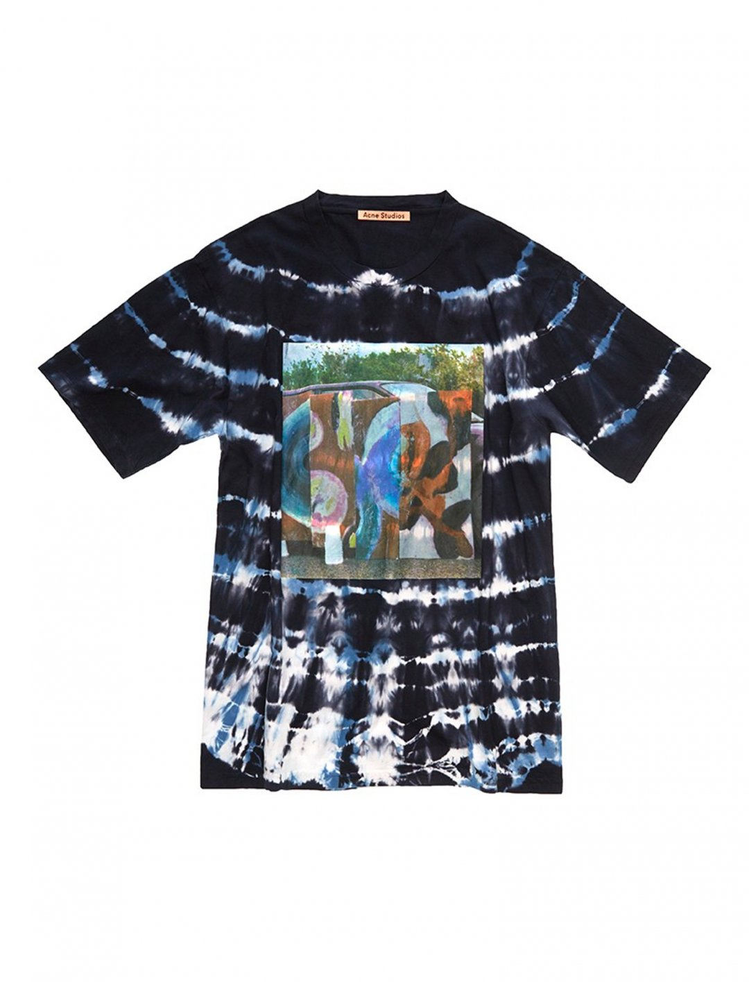"Tie-Dye T-shirt {""id"":5,""product_section_id"":1,""name"":""Clothing"",""order"":5} Acne Studios"
