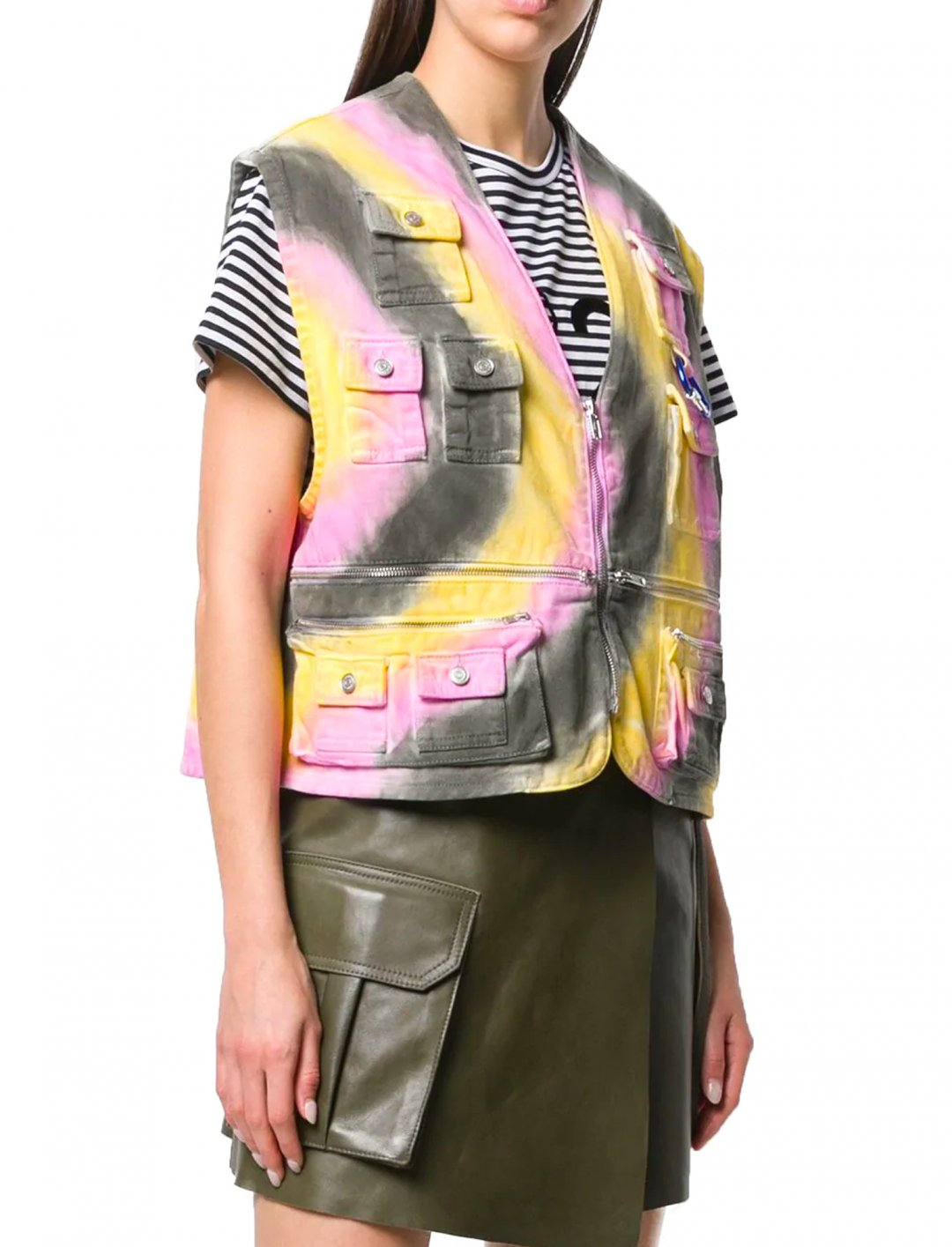 "Tie-Dye Waistcoat {""id"":5,""product_section_id"":1,""name"":""Clothing"",""order"":5} Ganni"