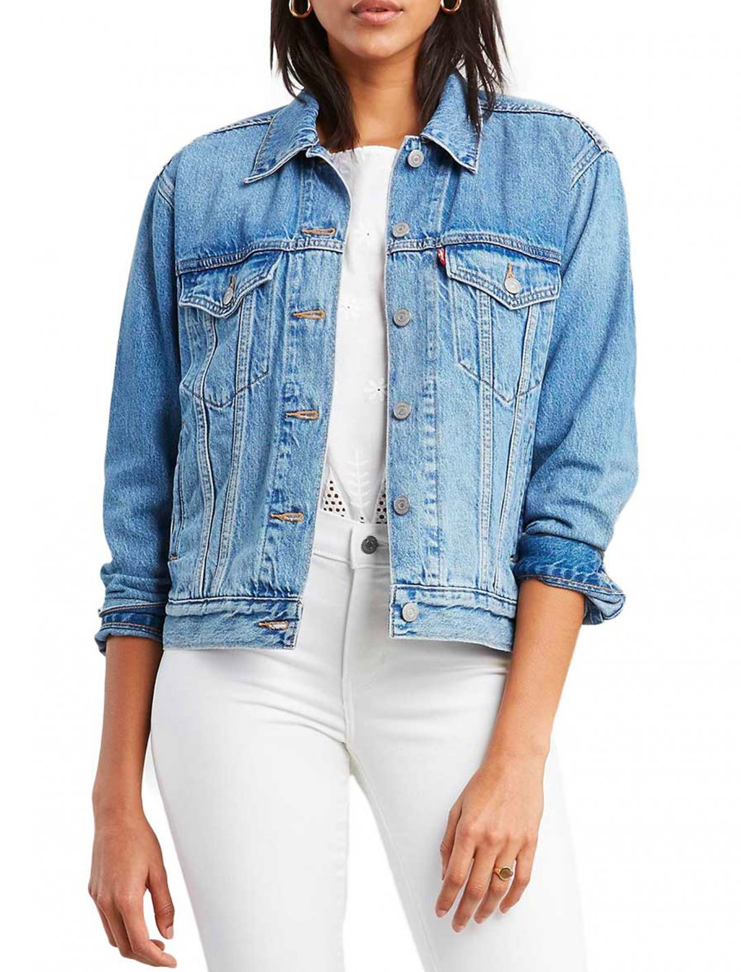 "Trucker Jacket {""id"":5,""product_section_id"":1,""name"":""Clothing"",""order"":5} Levi's"