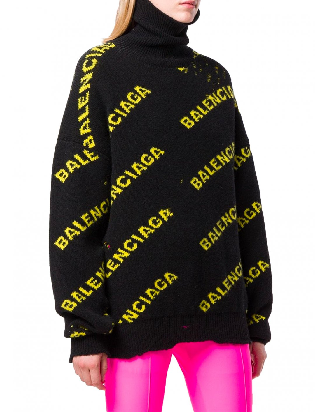 "Turtleneck Sweater {""id"":5,""product_section_id"":1,""name"":""Clothing"",""order"":5} Farfetch x Balenciaga"