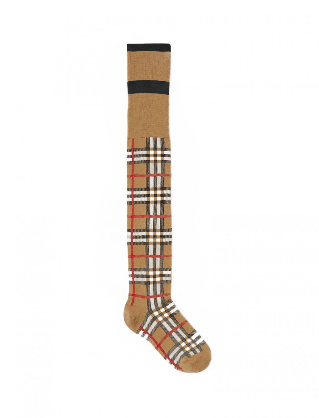 "Vintage Check Jacquard Socks {""id"":16,""product_section_id"":1,""name"":""Accessories"",""order"":15} Vivienne Westwood x Burberry"