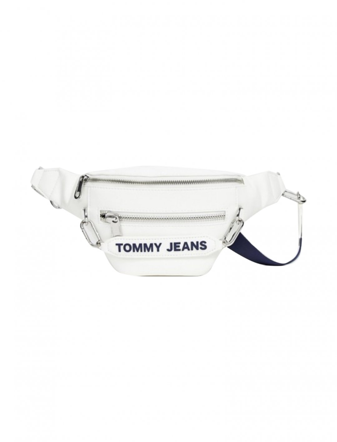 "White Bumbag {""id"":1,""product_section_id"":1,""name"":""Bags"",""order"":1} Tommy Jeans"