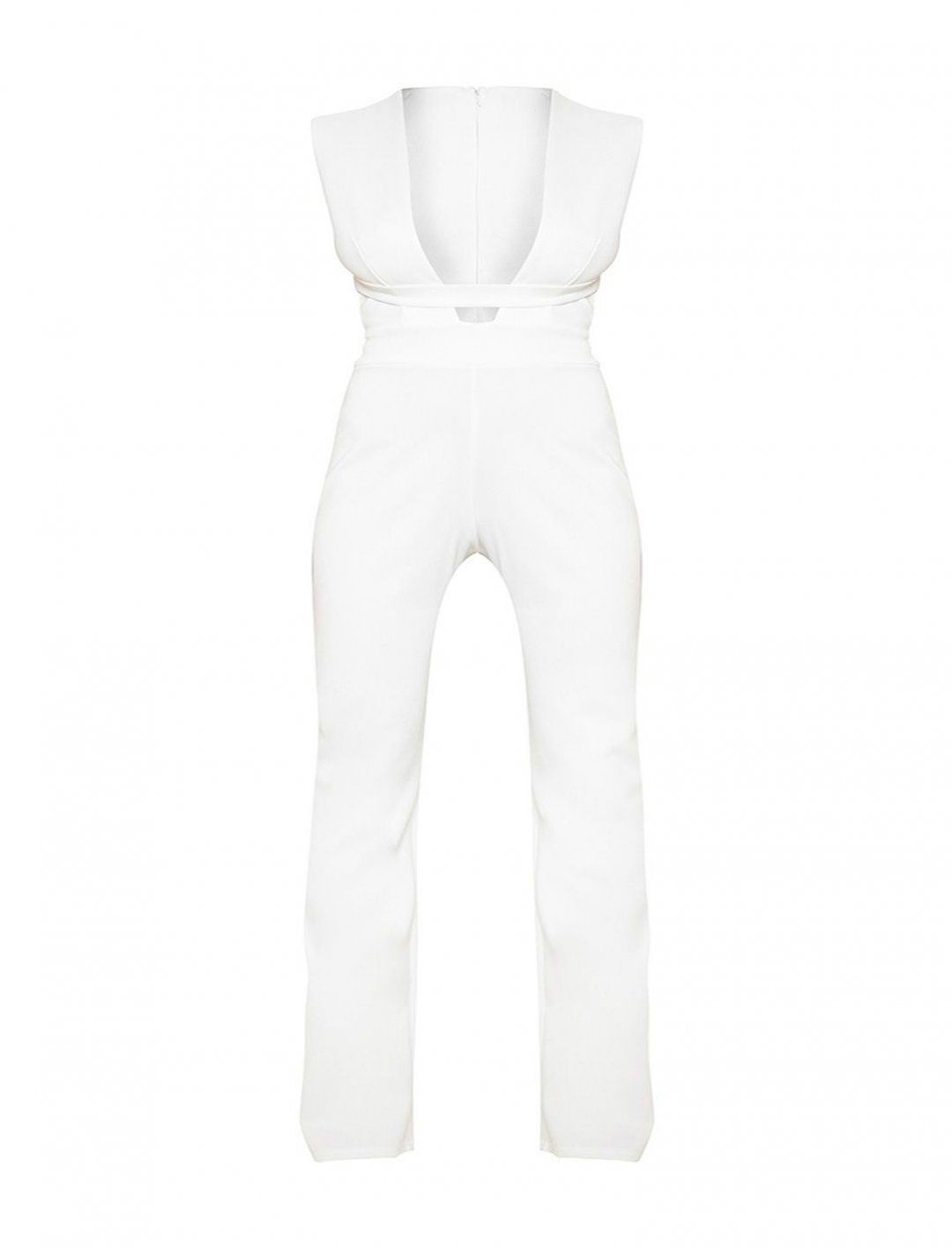 "White Jumpsuit {""id"":5,""product_section_id"":1,""name"":""Clothing"",""order"":5} Pretty Little Thing"