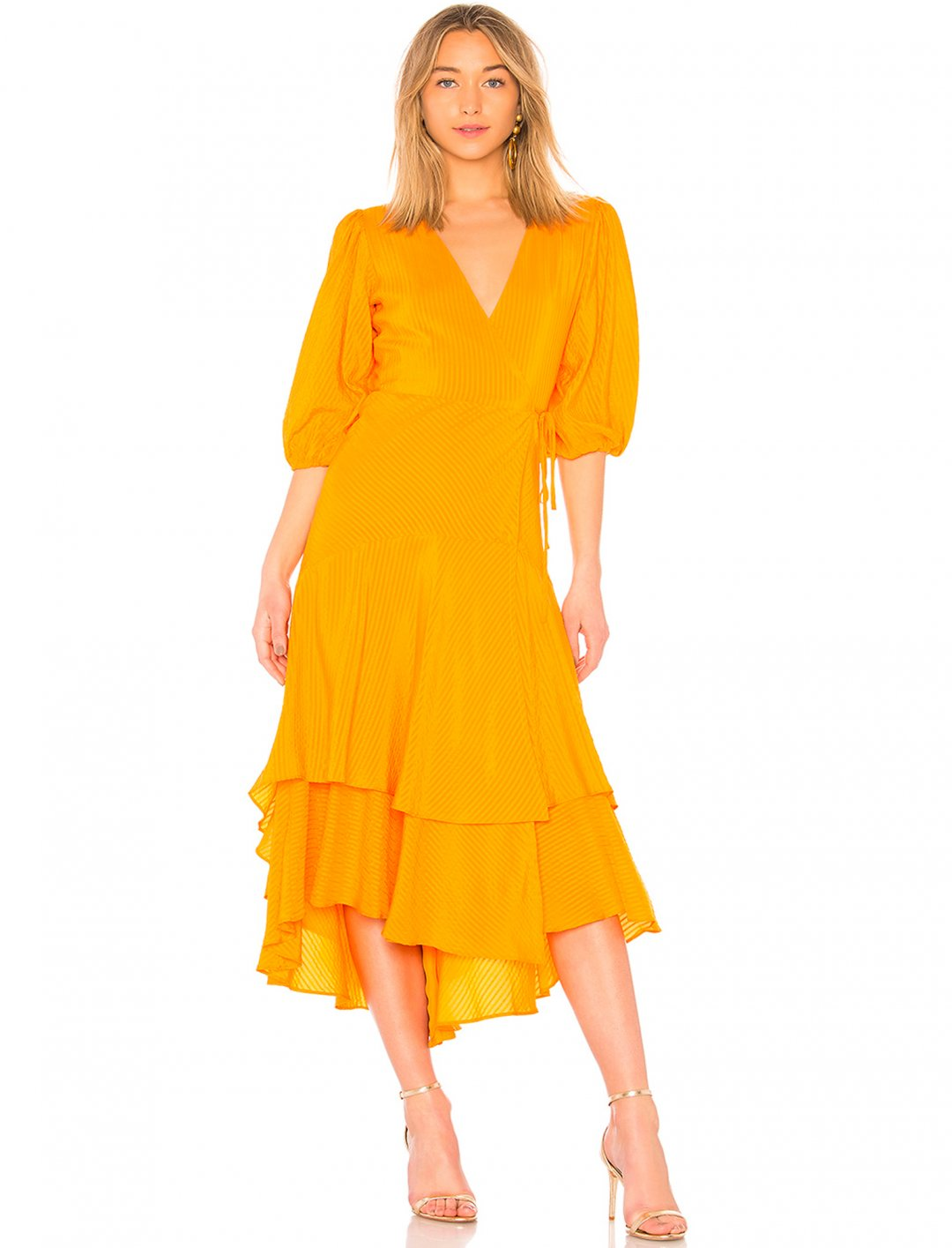 "Wrap Dress {""id"":5,""product_section_id"":1,""name"":""Clothing"",""order"":5} Ganni"