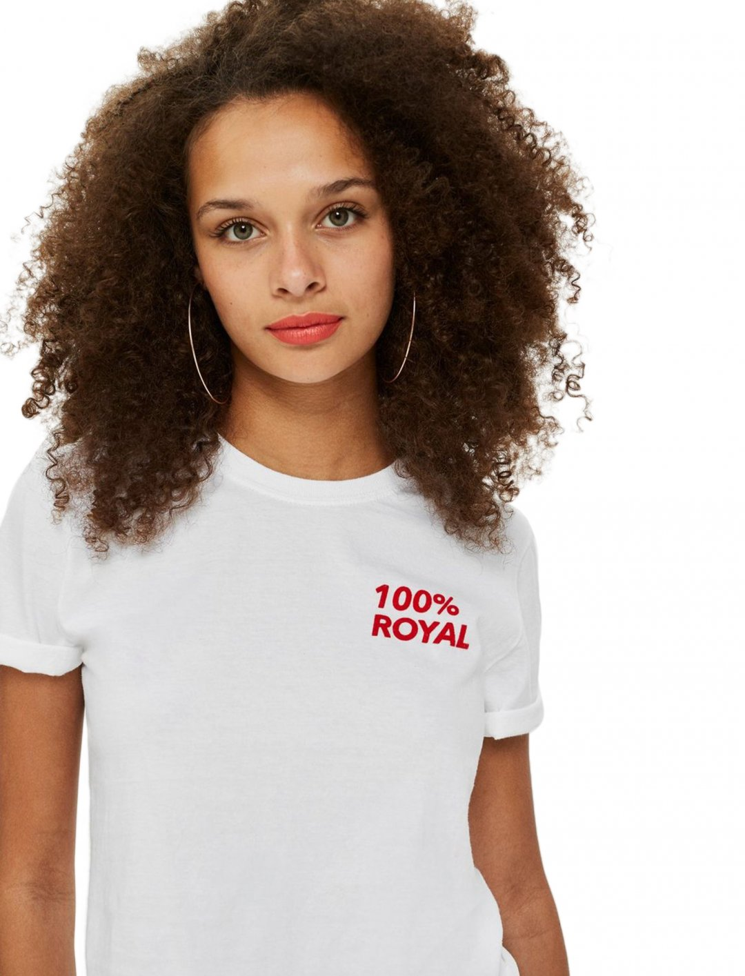 "Cropped T-Shirt {""id"":5,""product_section_id"":1,""name"":""Clothing"",""order"":5} Topshop"
