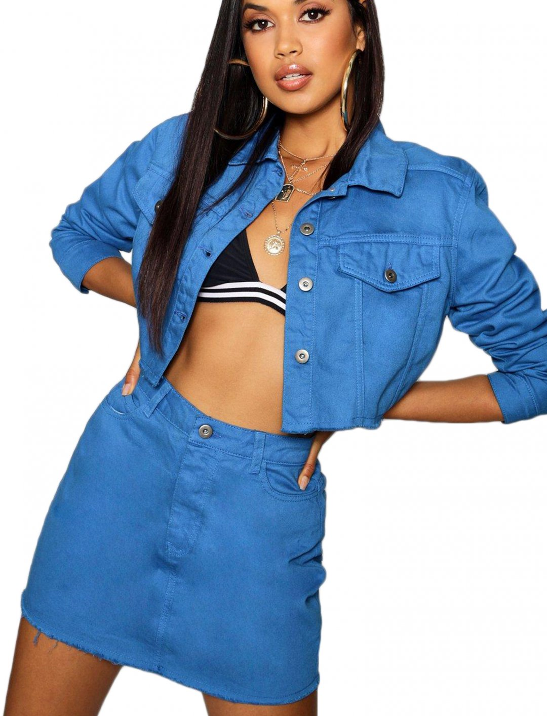 "Denim Jacket {""id"":5,""product_section_id"":1,""name"":""Clothing"",""order"":5} boohoo"