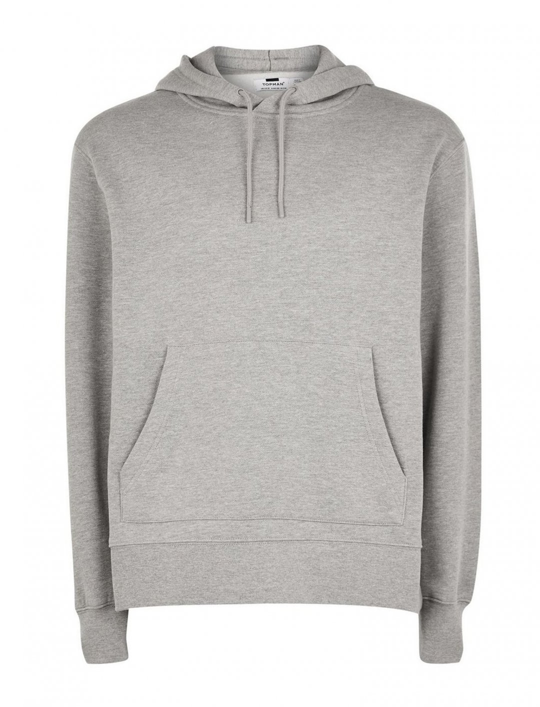 "Grey Overhead Hoodie {""id"":5,""product_section_id"":1,""name"":""Clothing"",""order"":5} Topman"