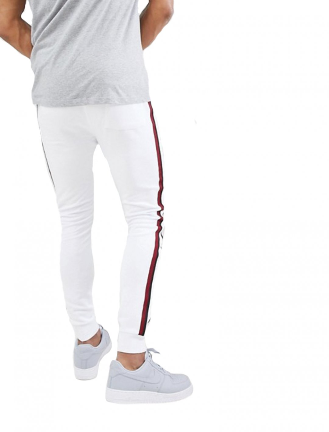 "Joggers In White {""id"":5,""product_section_id"":1,""name"":""Clothing"",""order"":5} ASOS DESIGN"