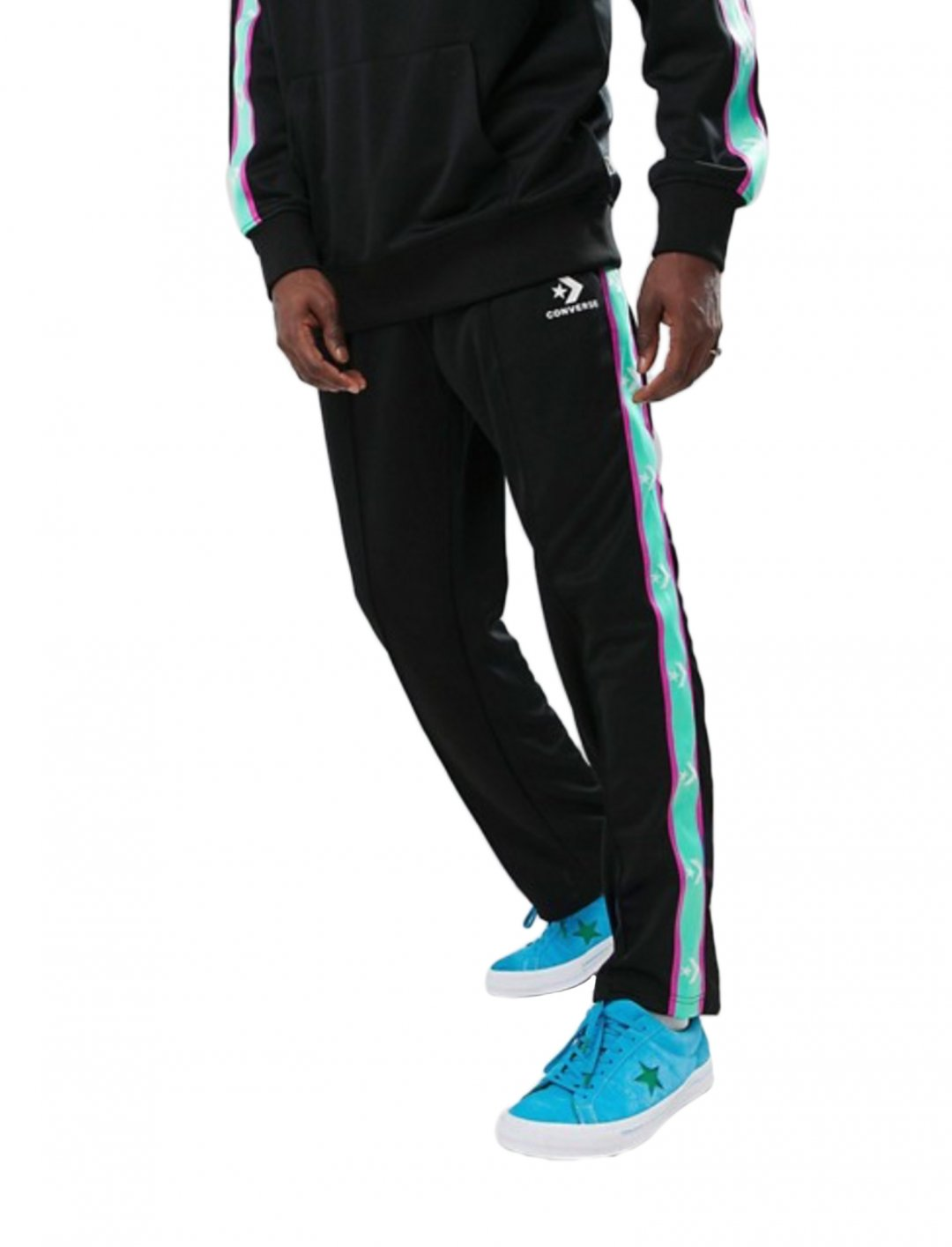 "Joggers With Taped Side Stripes {""id"":5,""product_section_id"":1,""name"":""Clothing"",""order"":5} Converse"