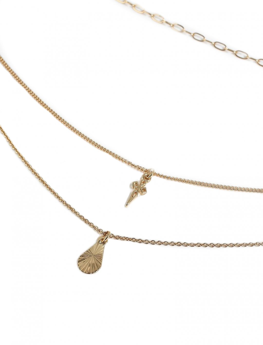 "Multi-Row Necklace {""id"":16,""product_section_id"":1,""name"":""Accessories"",""order"":15} Freedom"