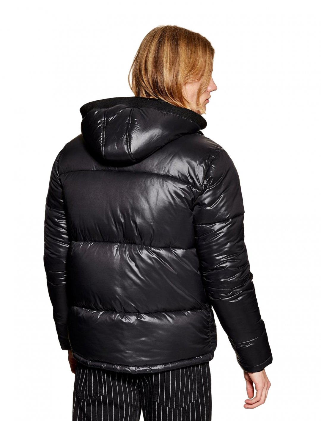 "Puffer Jacket In Black {""id"":5,""product_section_id"":1,""name"":""Clothing"",""order"":5} Topman"