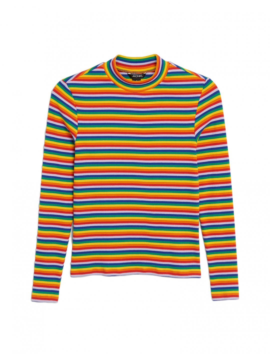 "Rainbow Turtleneck {""id"":5,""product_section_id"":1,""name"":""Clothing"",""order"":5} Monki"