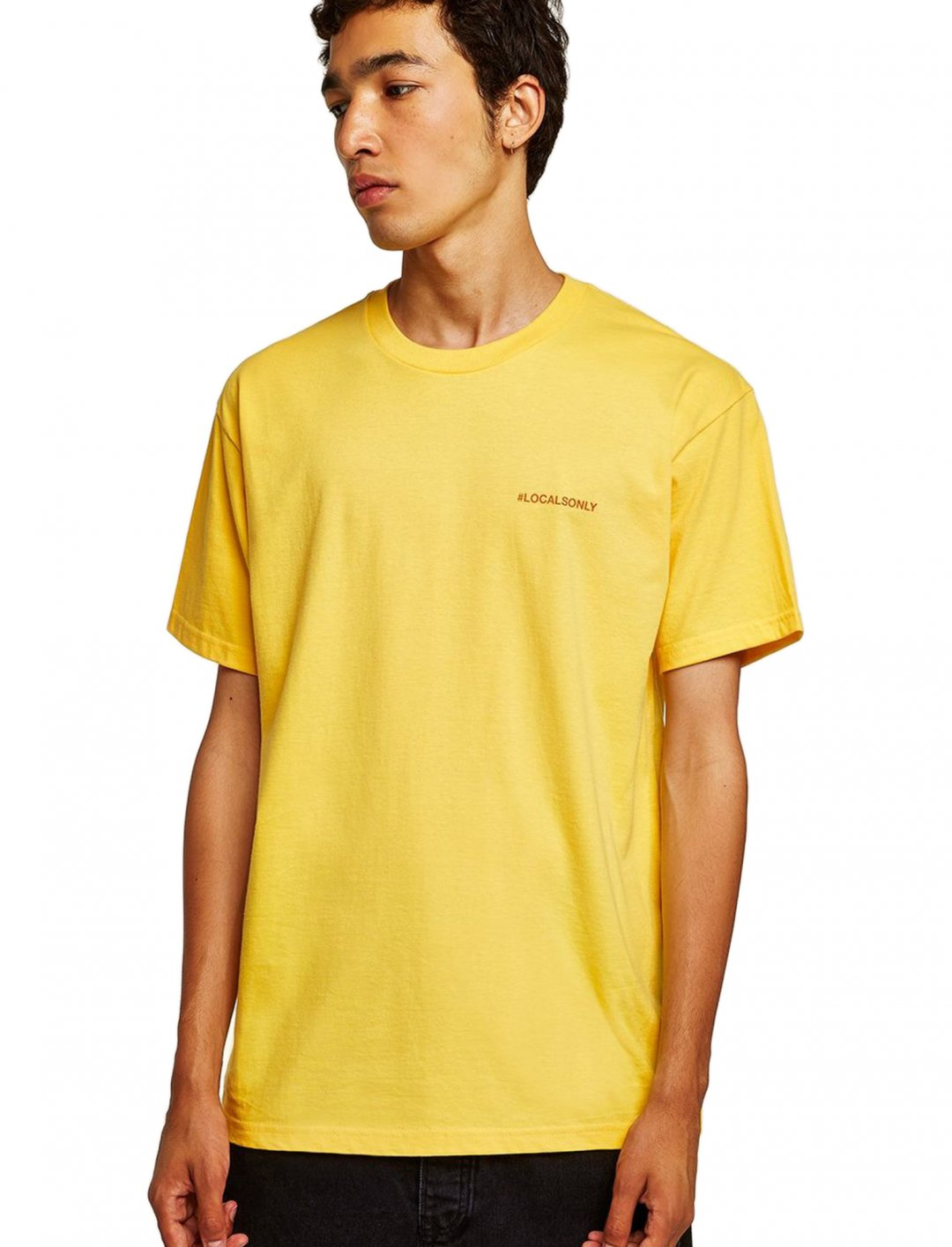 "T-Shirt In Yellow {""id"":5,""product_section_id"":1,""name"":""Clothing"",""order"":5} Topman"