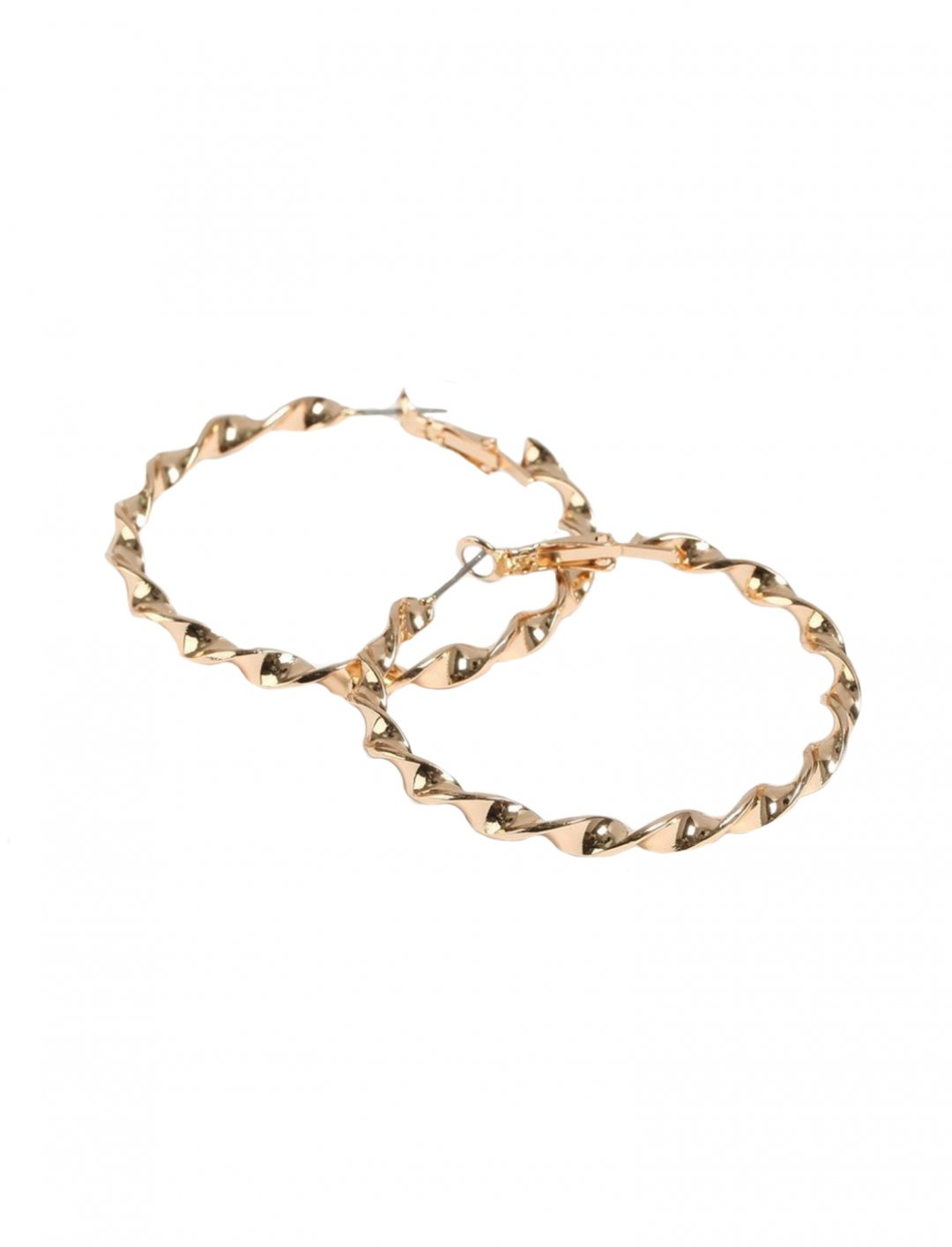 "Twist Hoop Earrings {""id"":16,""product_section_id"":1,""name"":""Accessories"",""order"":15} Topshop"