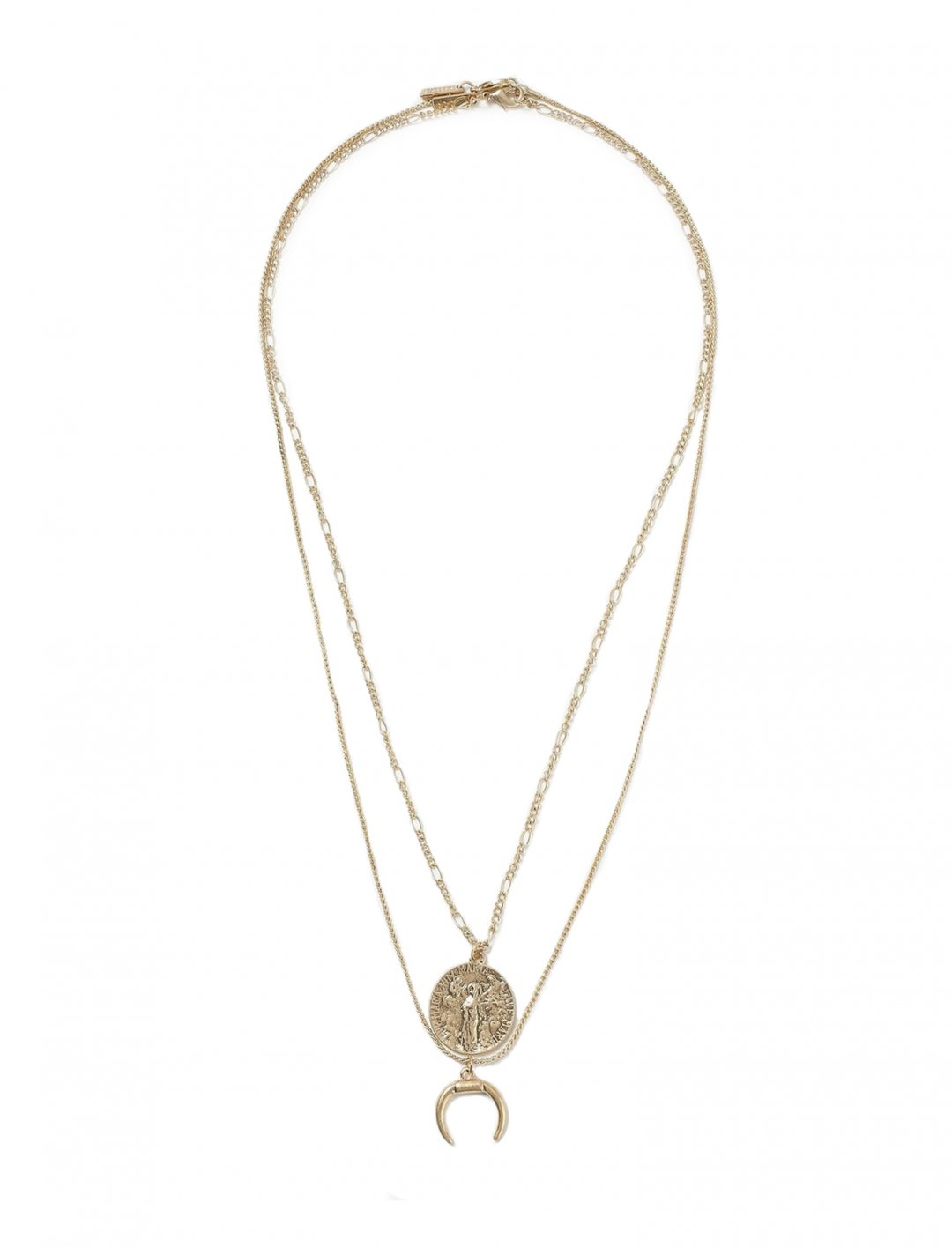 "Two Row Necklace {""id"":16,""product_section_id"":1,""name"":""Accessories"",""order"":15} Freedom"