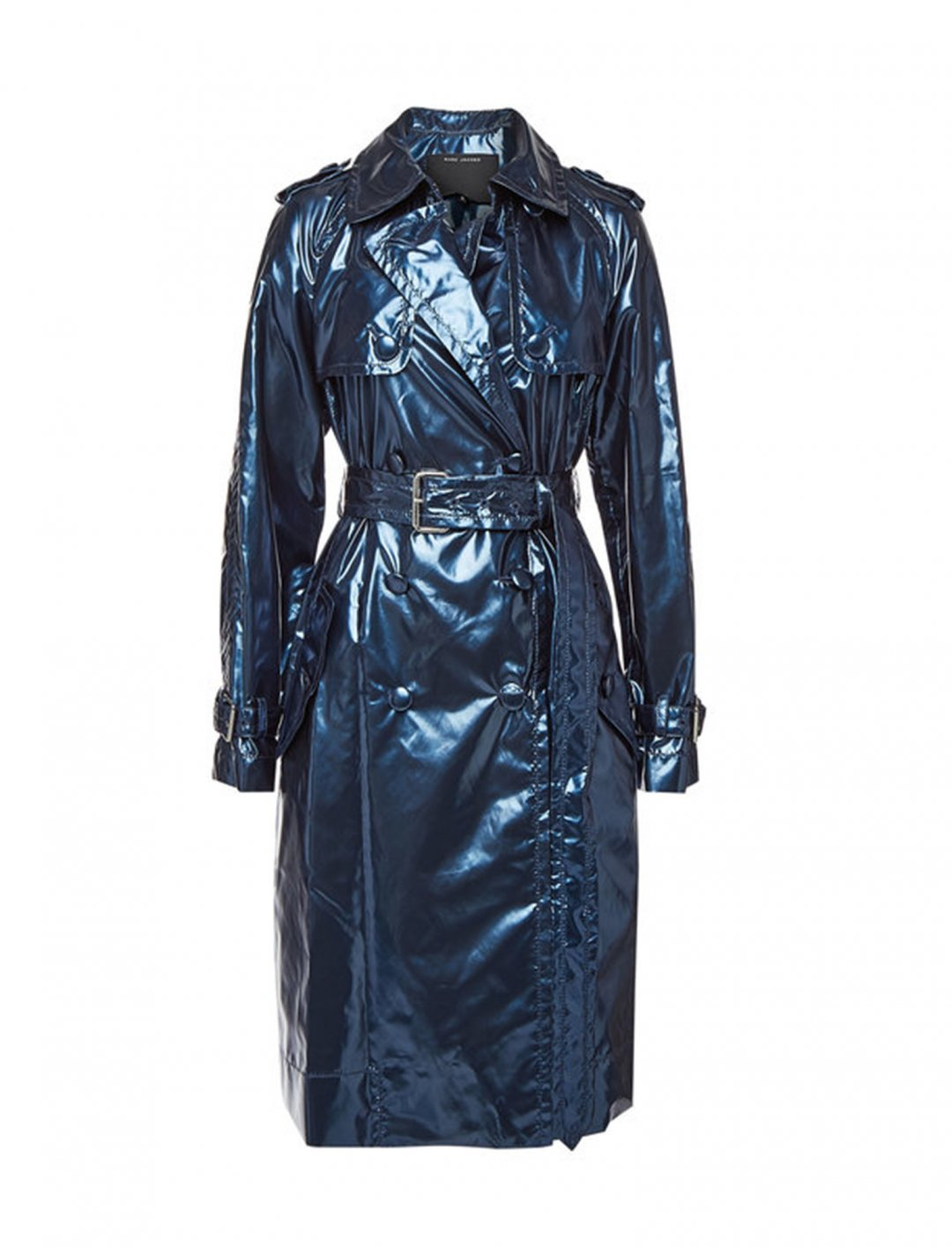 """Metallic Trench Coat {""""id"""":5,""""product_section_id"""":1,""""name"""":""""Clothing"""",""""order"""":5} Marc Jacobs"""