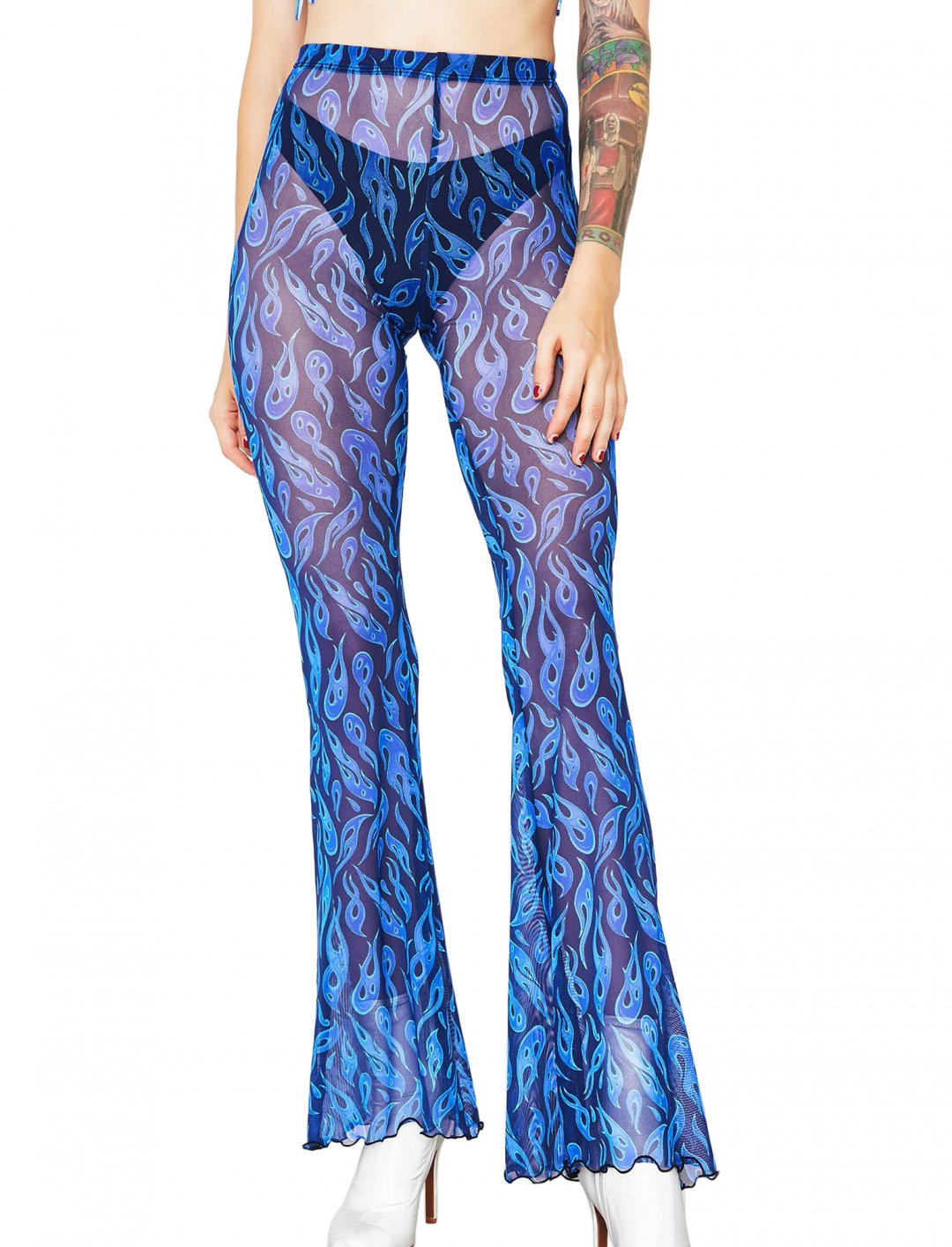 """Sheer Pants {""""id"""":5,""""product_section_id"""":1,""""name"""":""""Clothing"""",""""order"""":5} Smoking Daisies"""