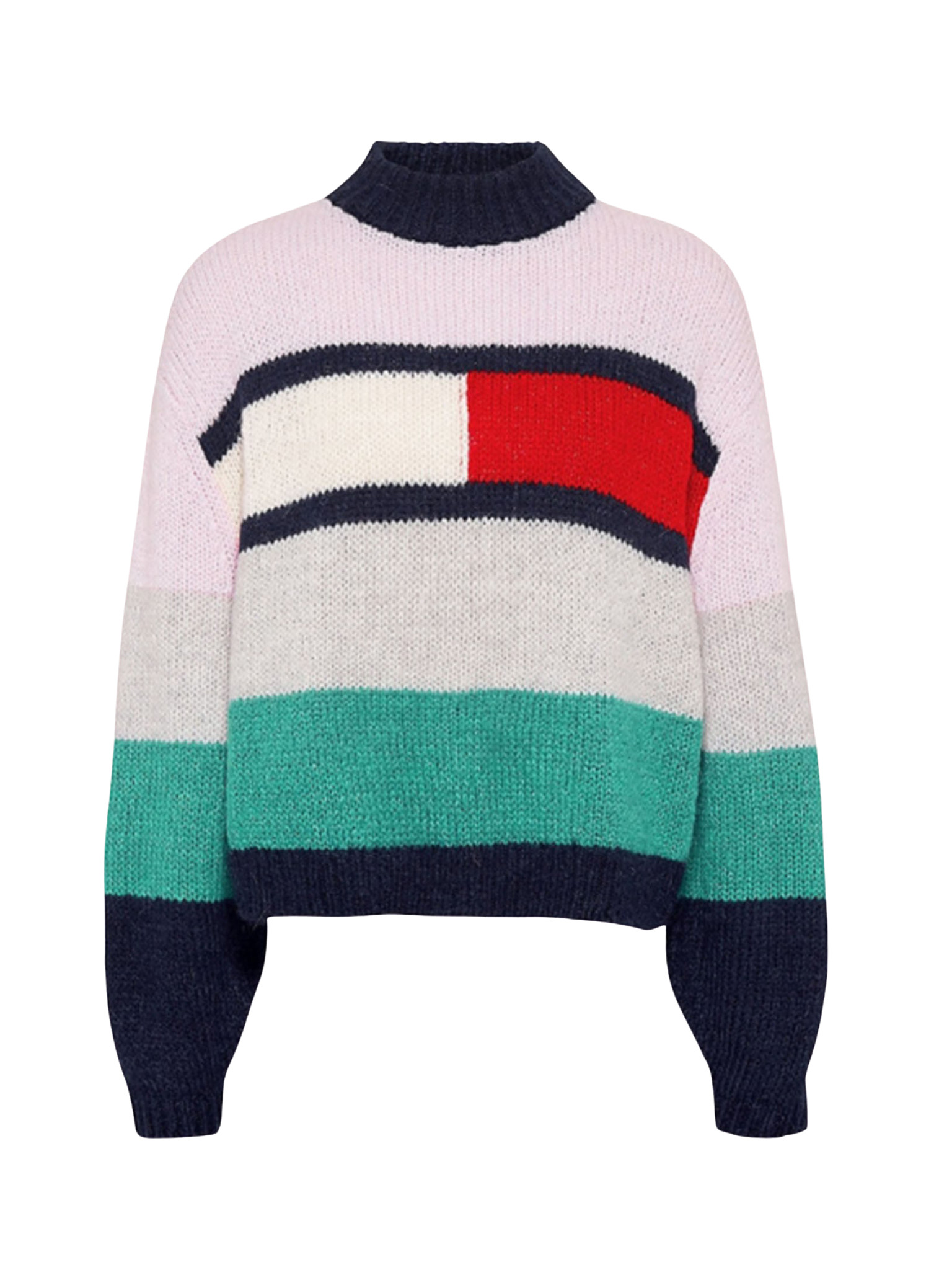 Colour-Blocked Jumper