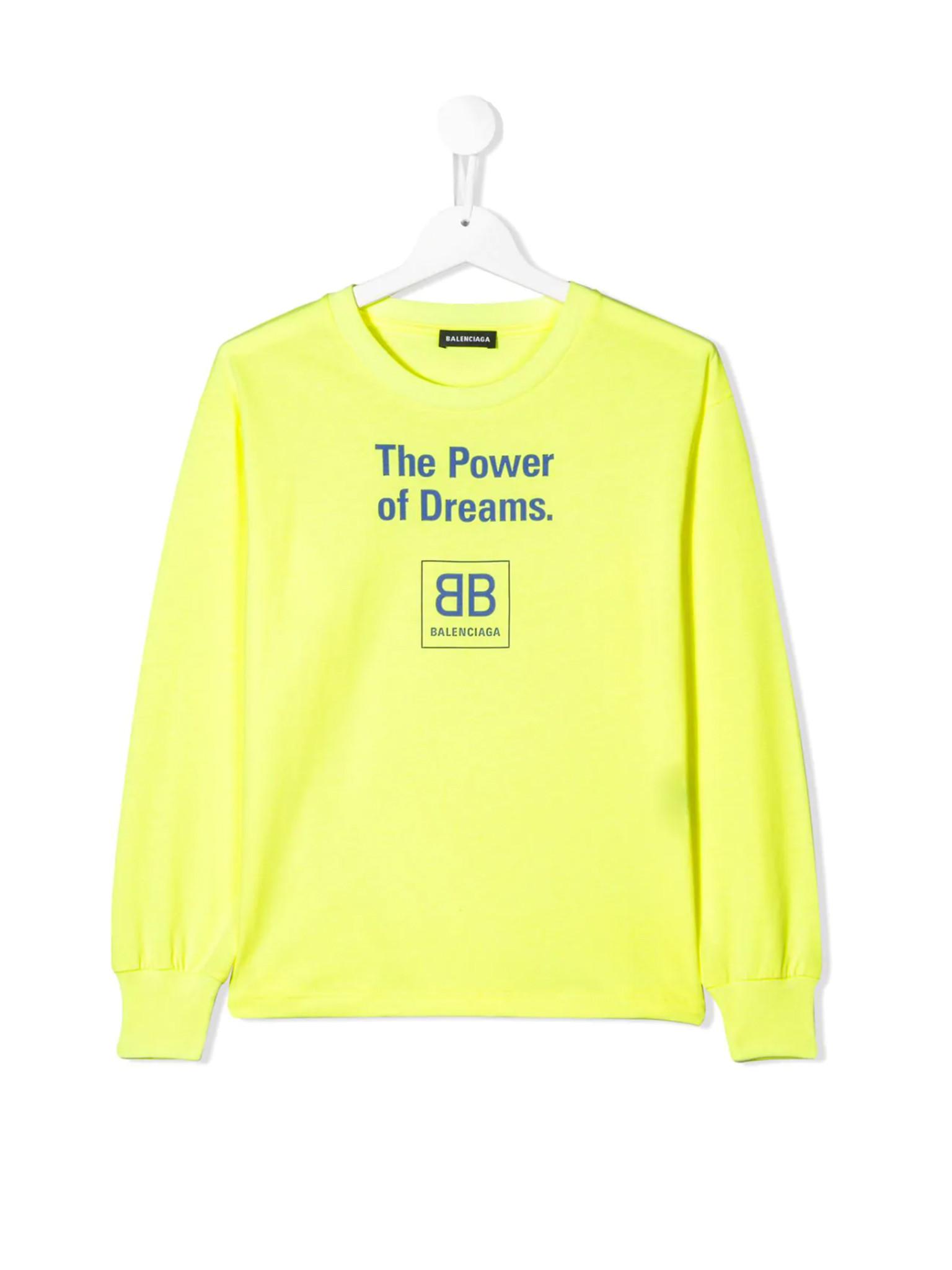 The Power of Dreams T-shirt  Balenciaga Kids
