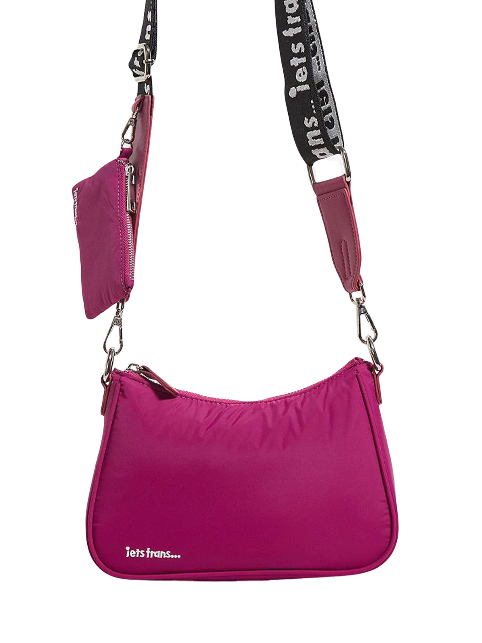 Nylon Pouch Crossbody Bag