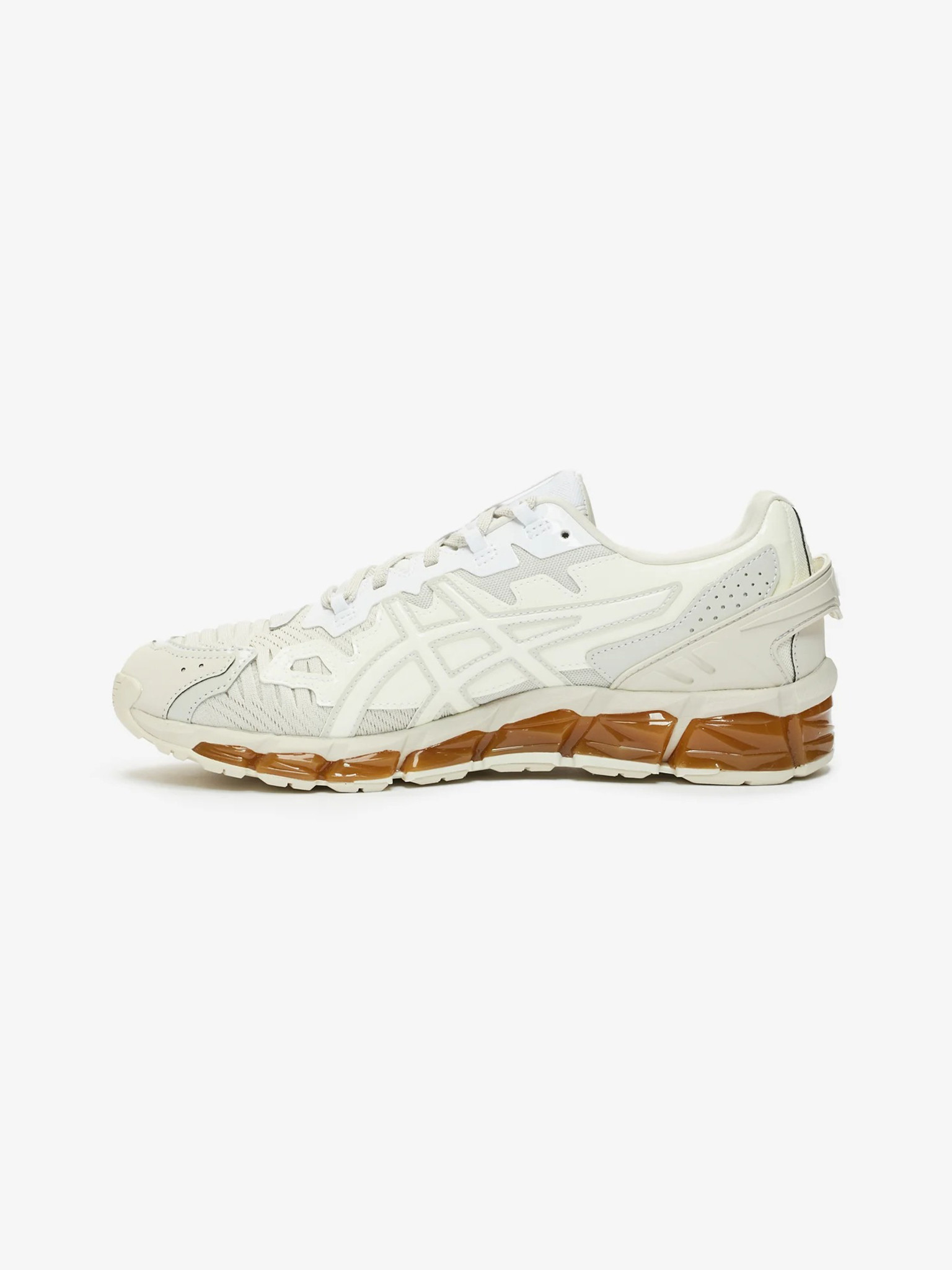 GmbH Gel-Quantum 360 6 Sneakers In Beige And White