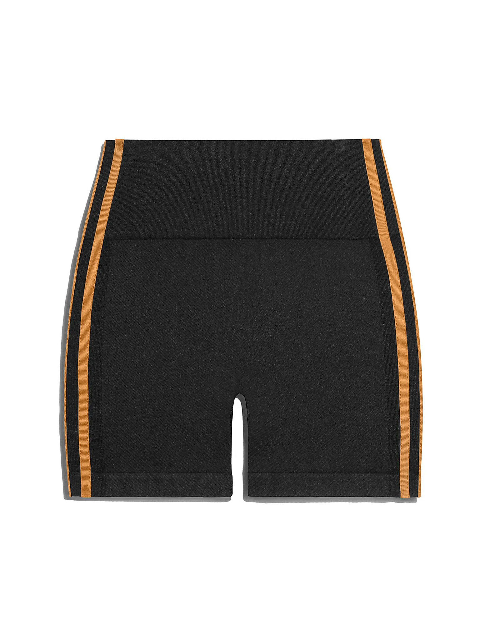 High-Waisted Shorts In Black