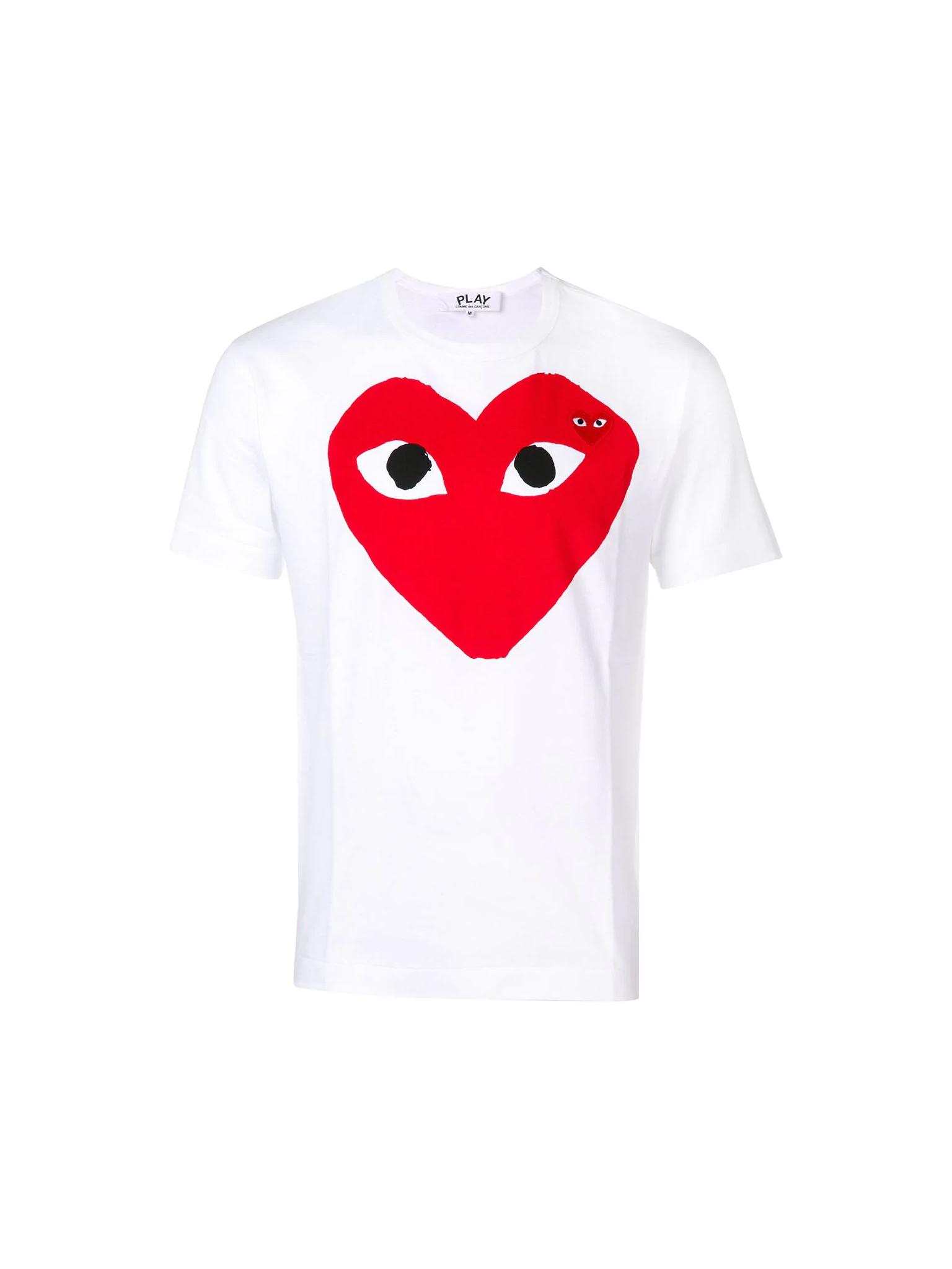 Heart T-shirt  Comme Des Garçons Play