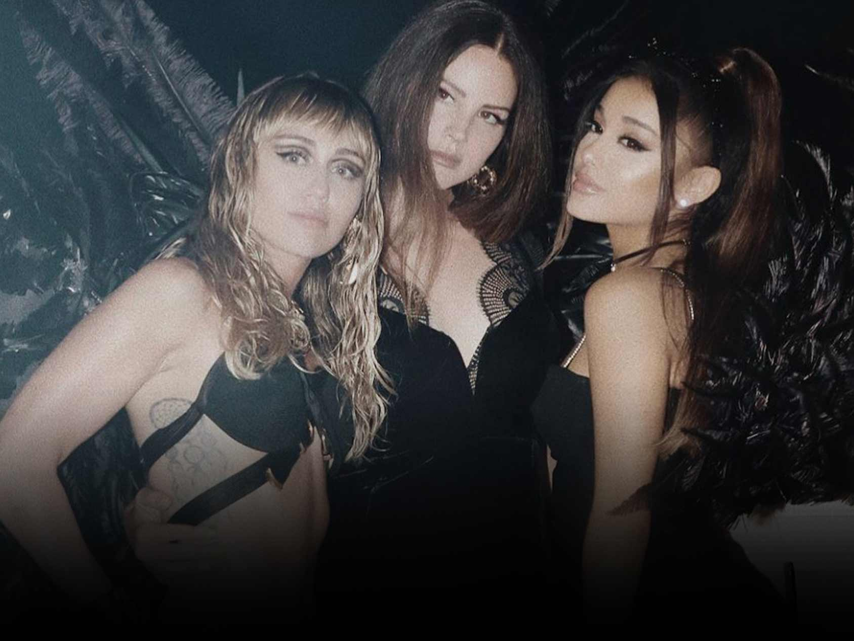 Ariana Grande, Miley Cyrus and Lana Del Rey Team Up For 'Don't Call Me Angel'