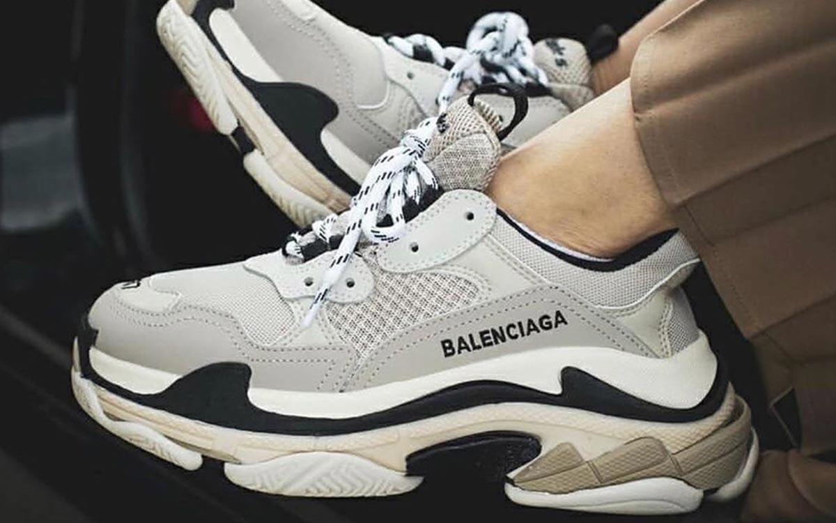 Balenciaga Leads the Way as Most Searched Sneaker Brand of