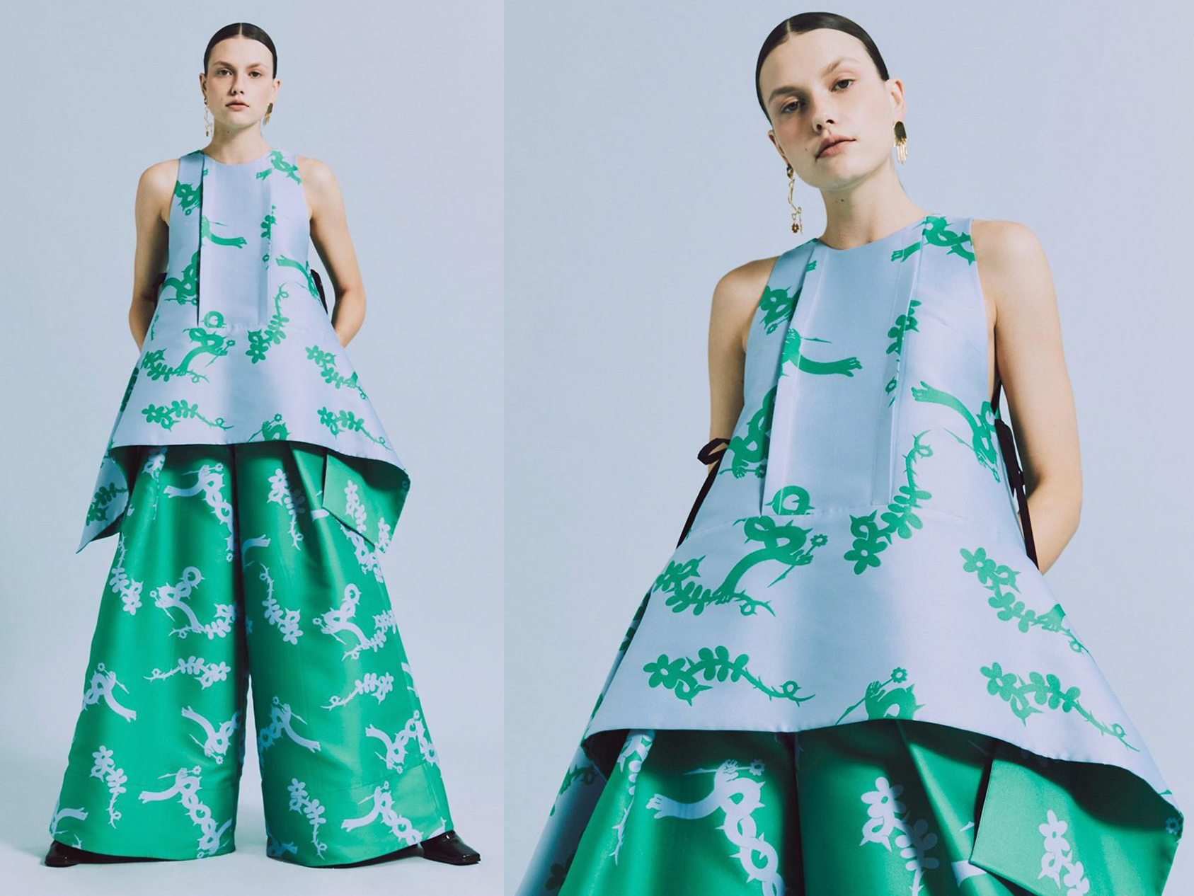 Next In Fashion S Minju Kim S Collection Is Here Post Kulture