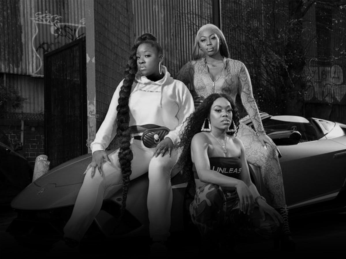 Lady Leshurr, Lioness and Ms Banks feature together on Pretty Little Thing 's latest collection