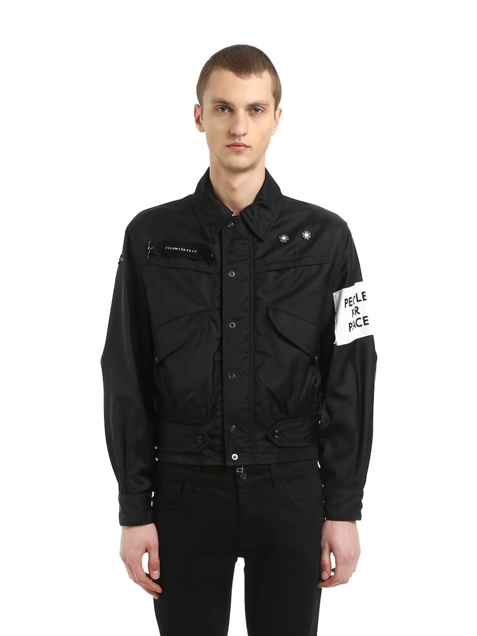 Captain Nylon Jacket With Patch  OAMC